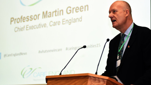 Professor Martin Green.