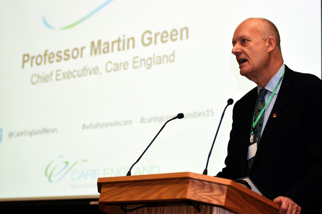 Professor Martin Green.