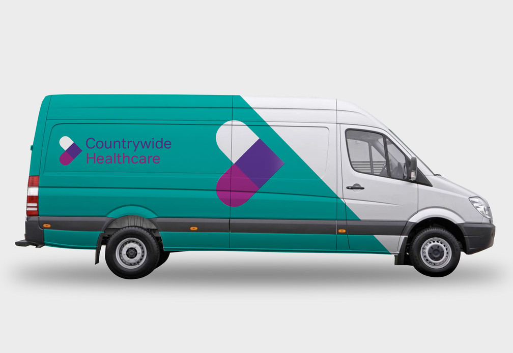 Countrywide Healthcare Rebrand
