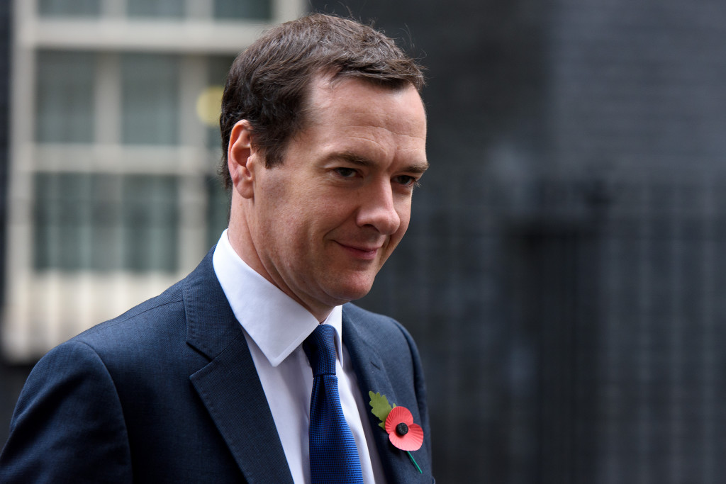 Chancellor George Osborne Departs Downing Street