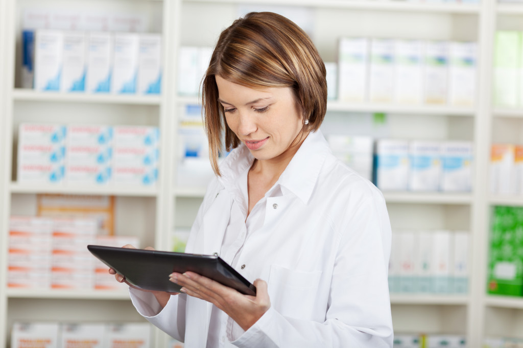 pharmacy tablet computer