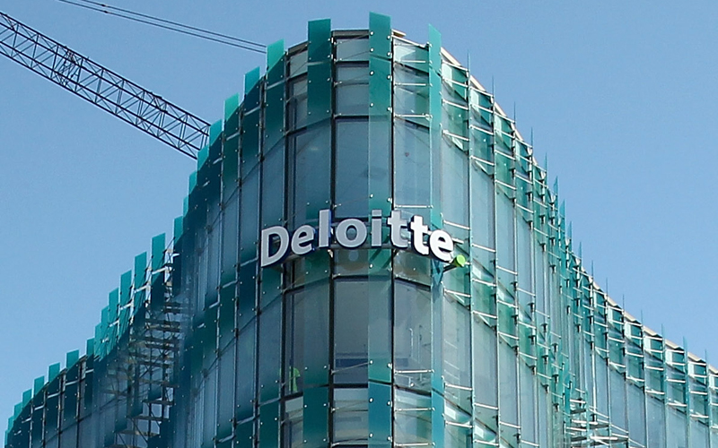 CHRISTCHURCH, NEW ZEALAND - FEBRUARY 20: A view of the Deloitte building on Colombo street on February 20, 2015 in Christchurch, New Zealand. Buildings and parks in the Christchurch central business district are still under development as the fourth anniversary of the February 21, 2011 earthquake that killed 186 people approaches. (Photo by Martin Hunter/Getty Images)