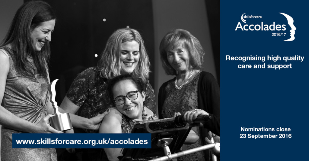 Skills for Care Accolades