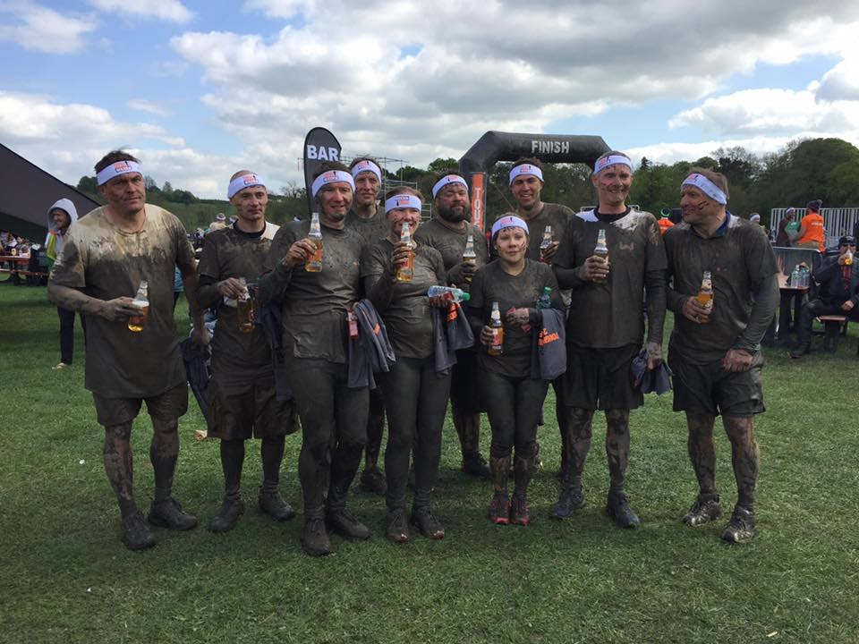 Wynbrook Tough Mudder team after event