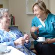 Christine Asbury, CEO of WCS-Care, spends time with residents in every one of her homes.