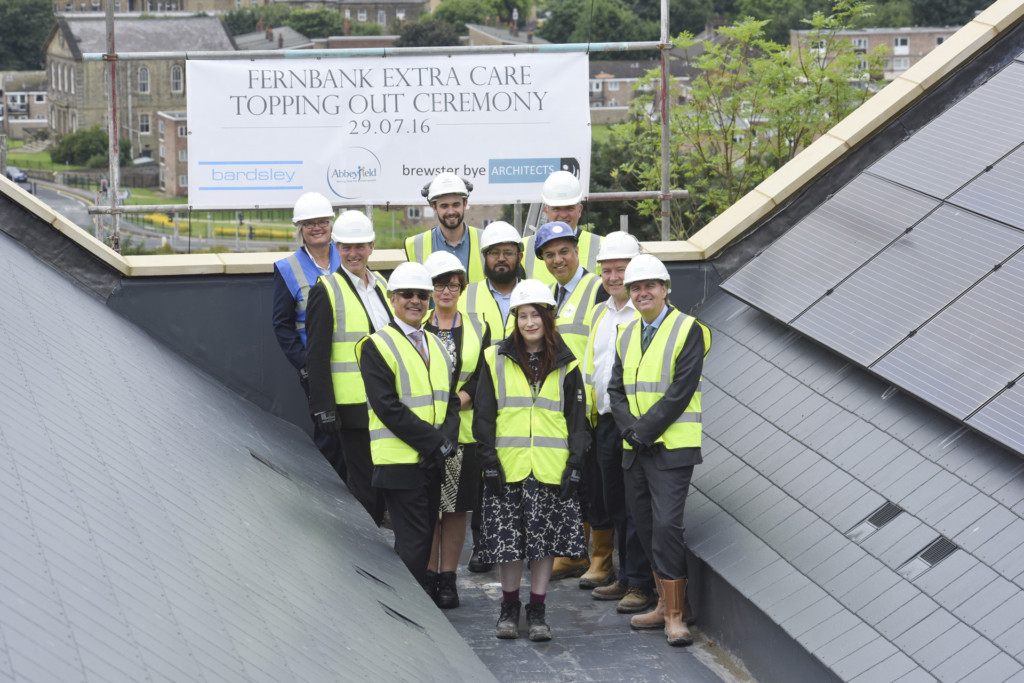 Bingley Topping Out - 3