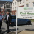 L-R Steve Day of Wynbrook with Dave Lock of Adept Care Homes