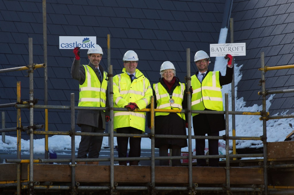 Baycroft Chelmsford topping out