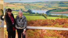Bonnie Frear Camelot House and resident jean lee