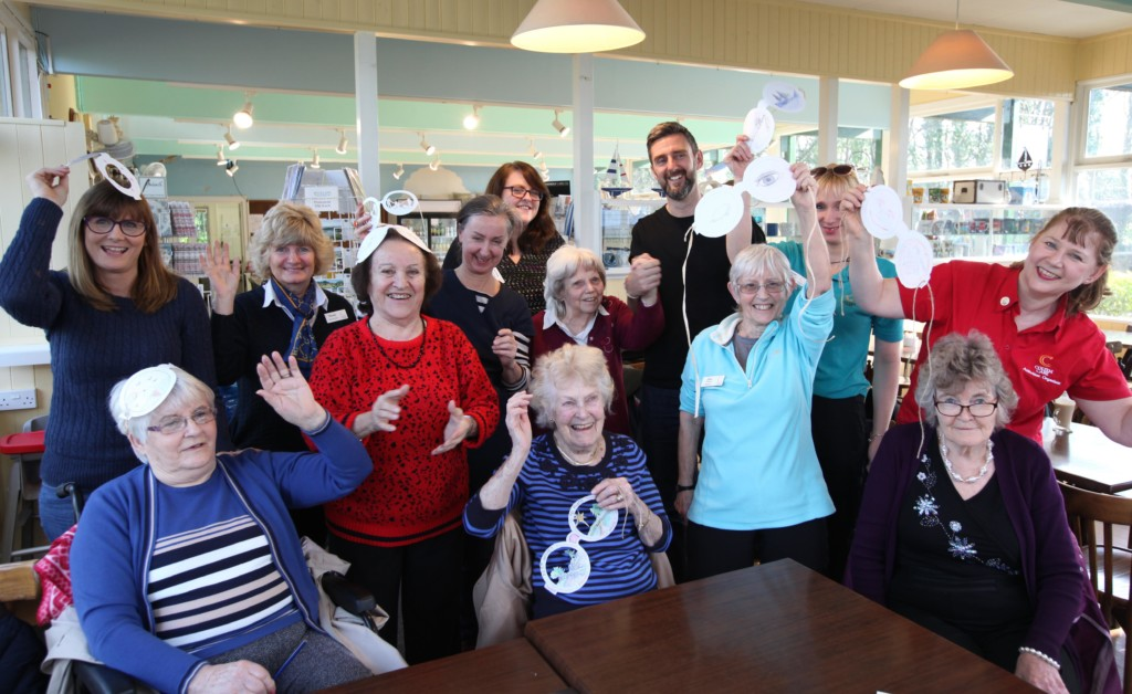 Residents from Colten Care's Fernhill care home enjoyed a stimulating day of art and activity at Buckler's Hard organised with Mark Drury of the Spud Project and artist Helen Snell. They were joined by carers and relatives.