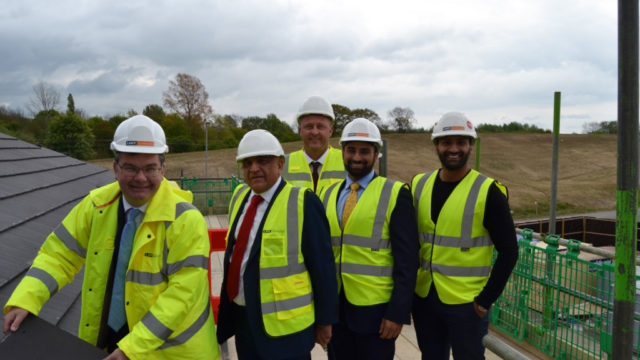 Iain Stewart – MP of Milton Keynes South Abdul Kachra – Chairman, Country Court Care David Hicks (back) – Group Estates Director, Country Court Care Al-karim Kachra – Finance Director, Country Court Care Alykhan Kachra – Managing Director, Country Court Care