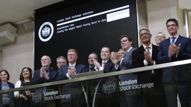 Greensleeves Care opens the London Stock Exchange