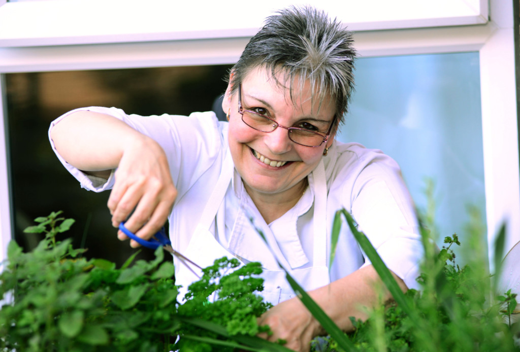 Orchard Chef of the Year winner Angie Pugh