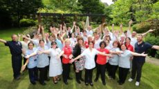 The team at Colten Care's Canford Chase in Poole