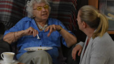 Greenacres - residents food tasting