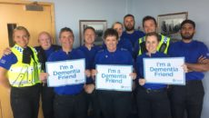 Cardiff Police Community Support Officers took part in the programme