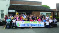 Halcon Centre celebrating their Outstanding CQC rating