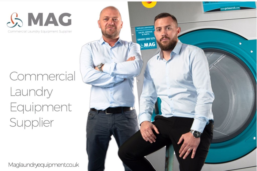 MAG's directors Kieron Kendell and Mark Dennis