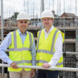 Roger Pratap MD of Majesticare with Graham Harper the Health and Social Director of Clydesdale & Yorkshire Bank
