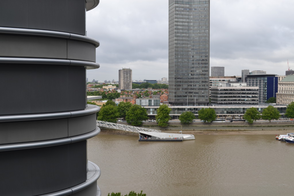 Bankhouse offers panoramic views of the Thames