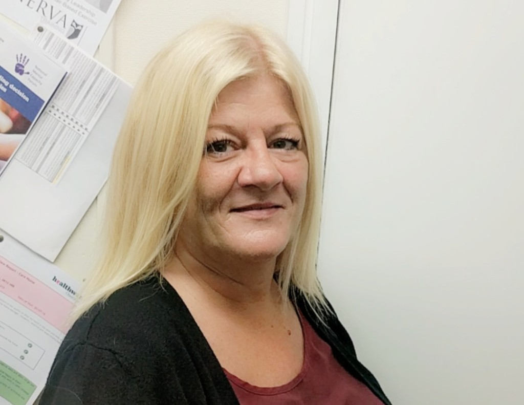 Deborah Wilson new Home Manager at Parklands care home in Cheshire