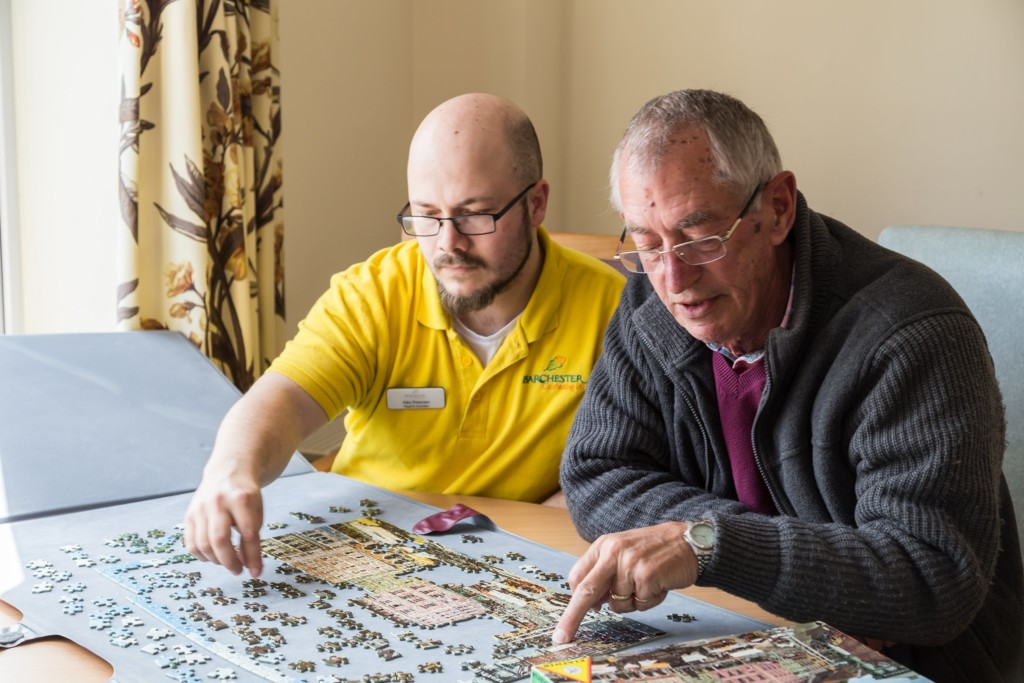 Activities at Lucerne care home