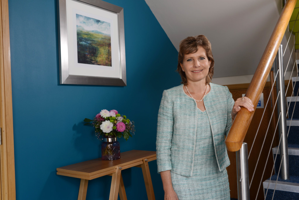 Dr Jane Townson, CEO of the Somerset Care Ltd. Photographed at the head offices in Acacia House, Blackbrook Park Avenue, Taunton