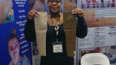 GIPskins inventor and director Charise Mullings