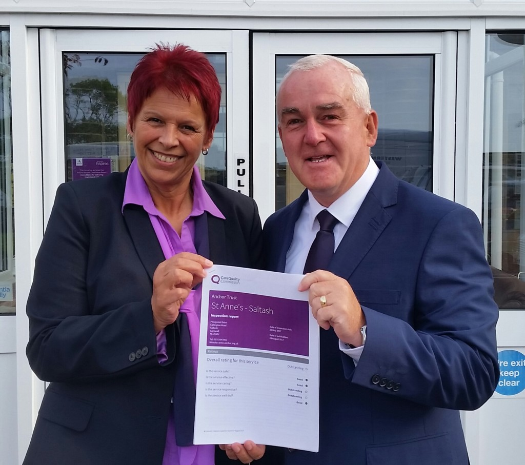 Deputy Manager Wendy Foy and Manager Neil McCalley