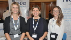 Nicola Holmes, Julia Harrison and Vicki Georgiou