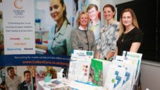 Operations Director Elaine Farrer and Clinical Managers Lindsay Rees and Lisa Barnes-Metcalf