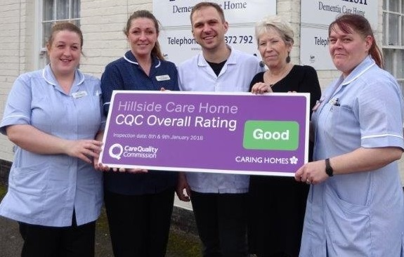 Hillside CQC with sign