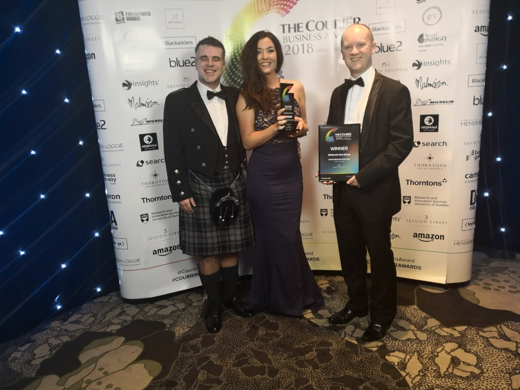 Balhousie wins Courier Business Award