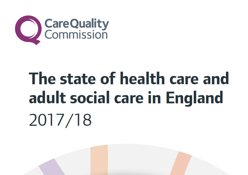 CQC State of care 2018
