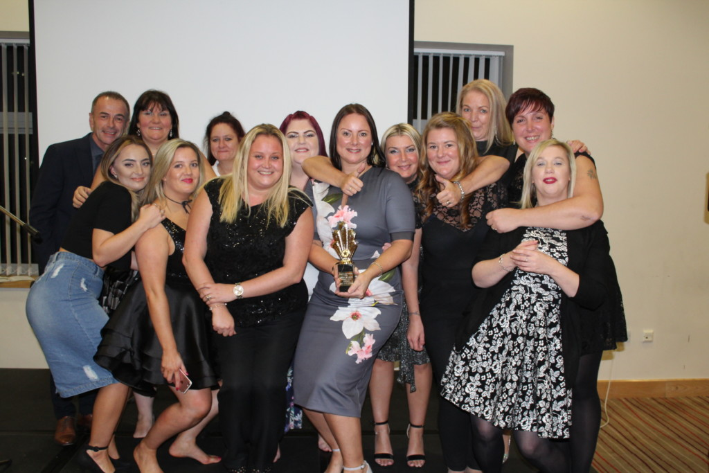 Staff from Belong Atherton presented with the 'Home of the Year' award