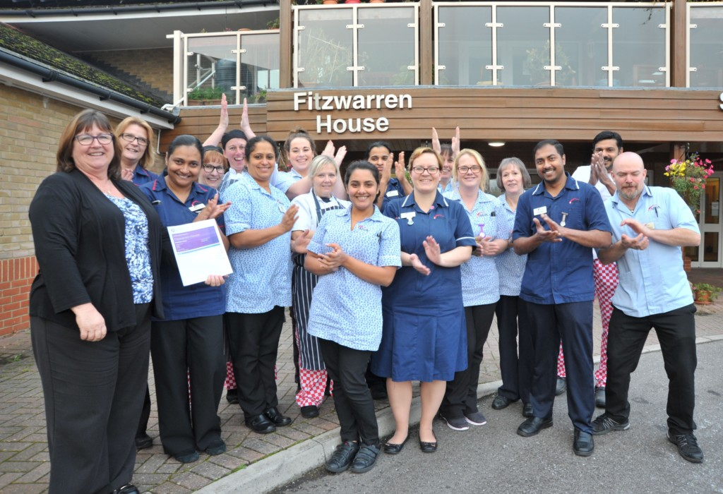 outstanding rating is music to staff and resident s ears