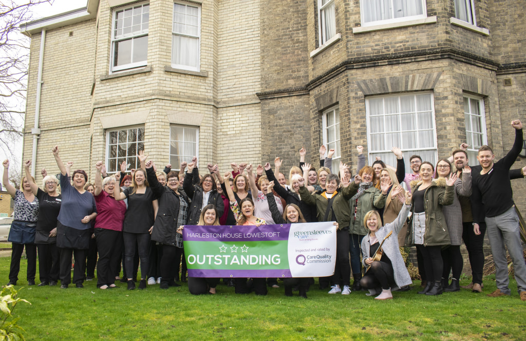 Harleston House rated Outstanding
