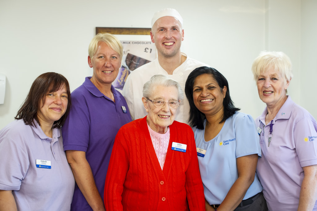 Sanctuary Care home rated Outstanding by CQC