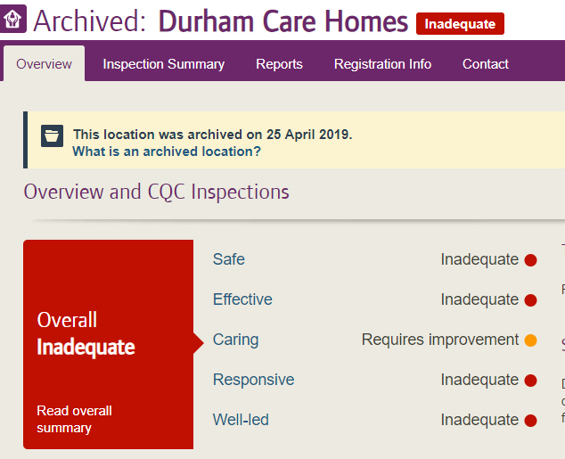 Durham Care Homes