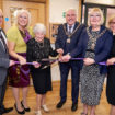 (L to R) Mark Luxford Lorraine Eastmead Sheila Hannam Mayor of Bexley Mayoress of Bexley and Angi Knight