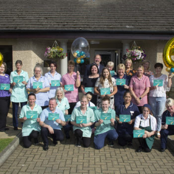 Canmore Lodge Care Home rated EXCELLENT