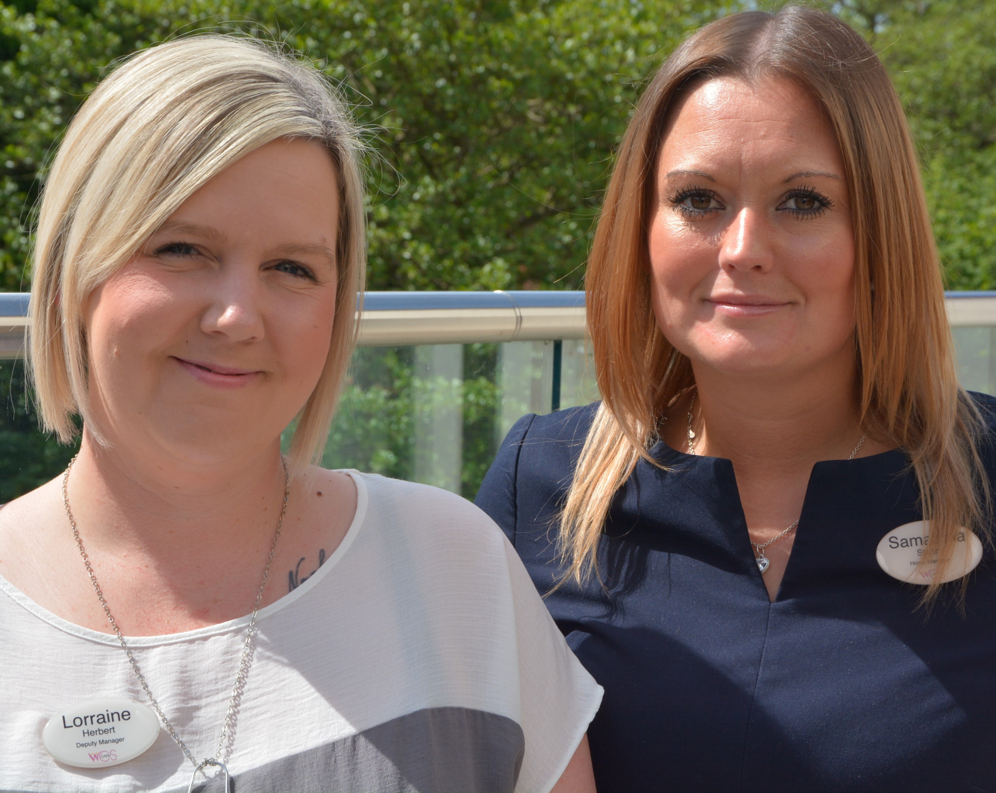 Woodside Care Village – Samantha and Lorraine