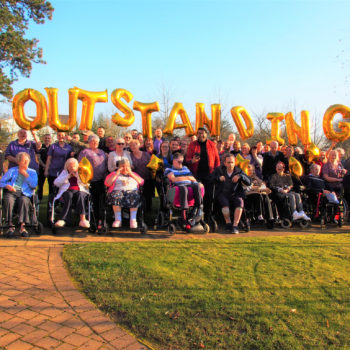 The Close Care Home OUTSTANDING Group Shot