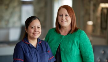 Ruddington Manor's Anne Mirasol and Tracy Johnston SMALL